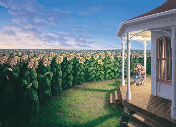 rob gonsalves, listening fields, rob gonsalves resimleri, büyülü gerçekçilik