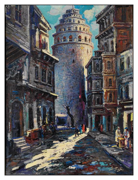 İbrahim Safi - Galata Kulesi Sokağı