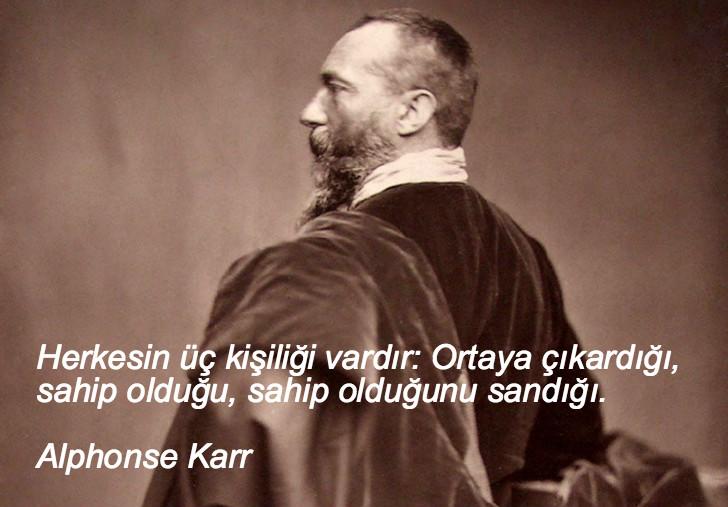 Alphonse Karr, düşündüren sözler, düşündüren özlü sözler, düşündüren güzel sözler, anlamlı sözler, güzel özlü sözler, güzel sözler