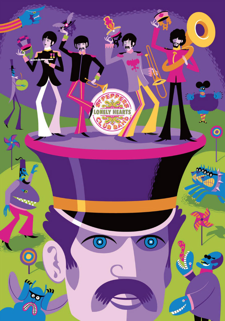 Josh Agle, Beatles May I Introduce To You