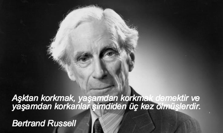 Bertrand Russell, düşündüren sözler, düşündüren özlü sözler, düşündüren güzel sözler, anlamlı sözler, güzel özlü sözler, güzel sözler