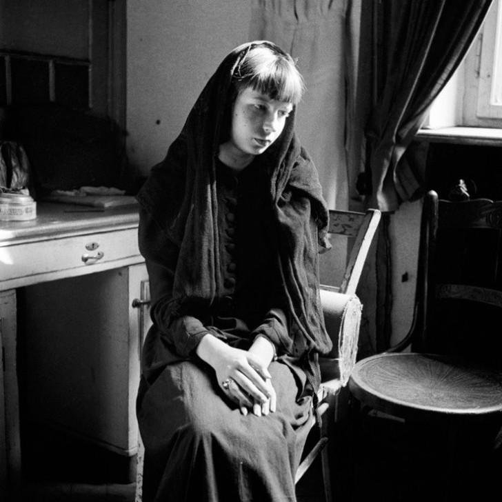 david seymour, magnum ajansı, magnum ajansı fotoğrafçıları, fotoğraf, yalnızlık fotoğrafları, yalnızlık şiirleri, ünlü fotoğrafçılar