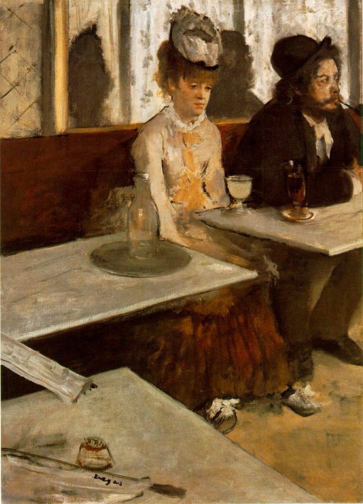 Edgar Degas, Absent İçenler