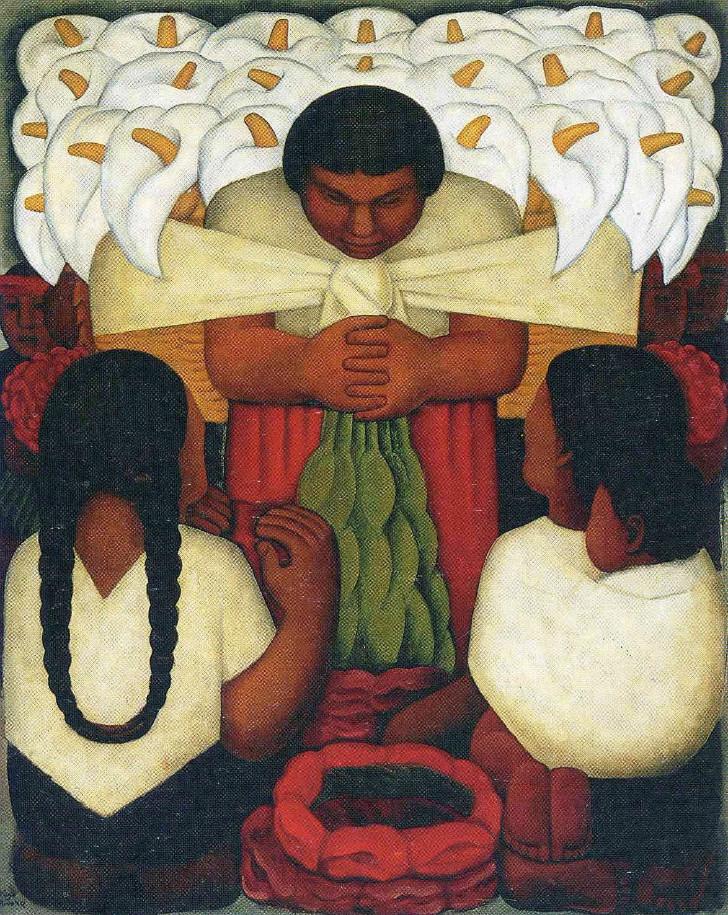 Diego Rivera, Flower Festival