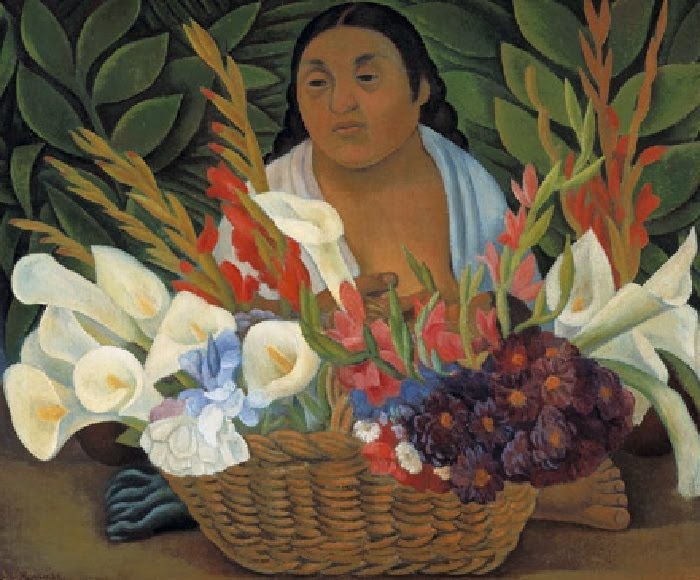 Diego Rivera, Flower Seller