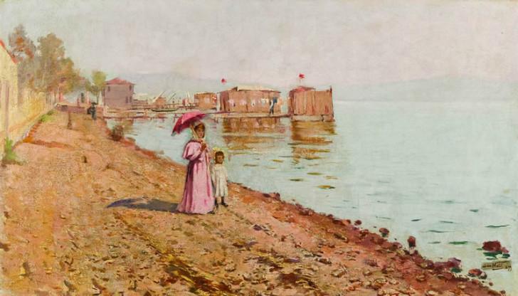 Halil Paşa - Bostancı Sahilinde Gezinti