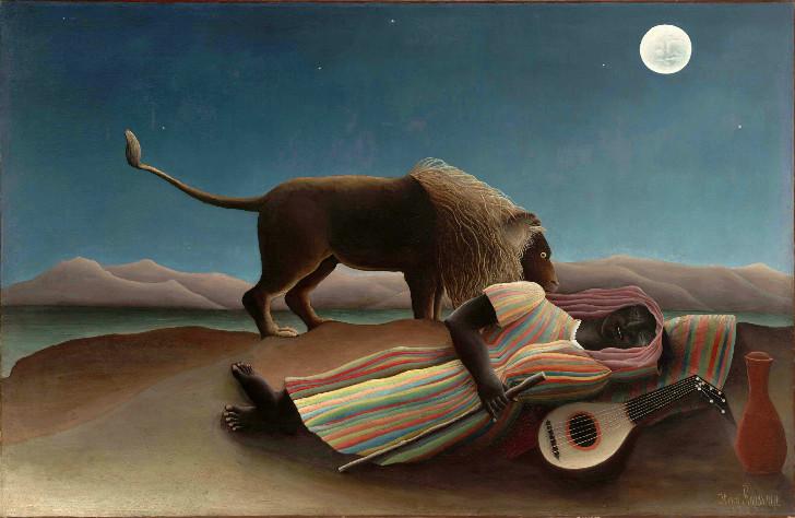 Henri Rousseau, Uyuyan Çingene