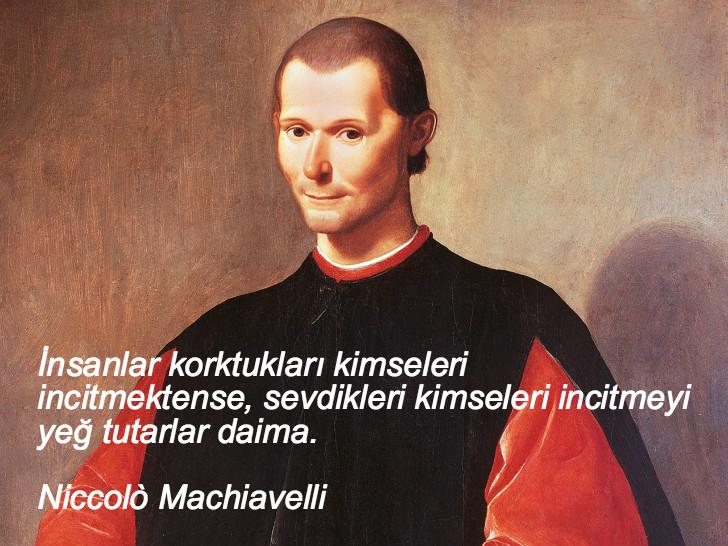 Niccolò Machiavelli, düşündüren sözler, düşündüren özlü sözler, düşündüren güzel sözler, anlamlı sözler, güzel özlü sözler, güzel sözler
