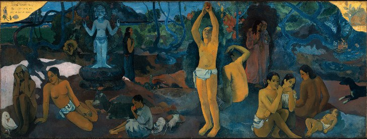 Paul Gauguin, Where Do We Come From, What Are We, Where Are We Going, 1898