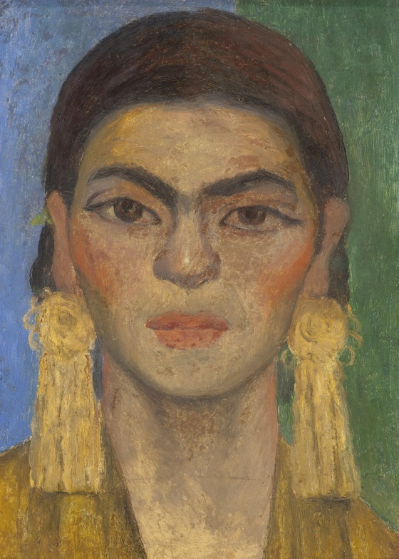 Diego Rivera, Portrait Of Frida Kahlo