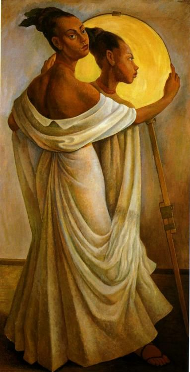Diego Rivera, Portrait Of Ruth River