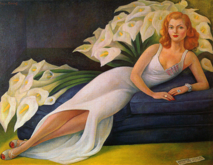 Diego Rivera, Portrait of Natasha Gelman