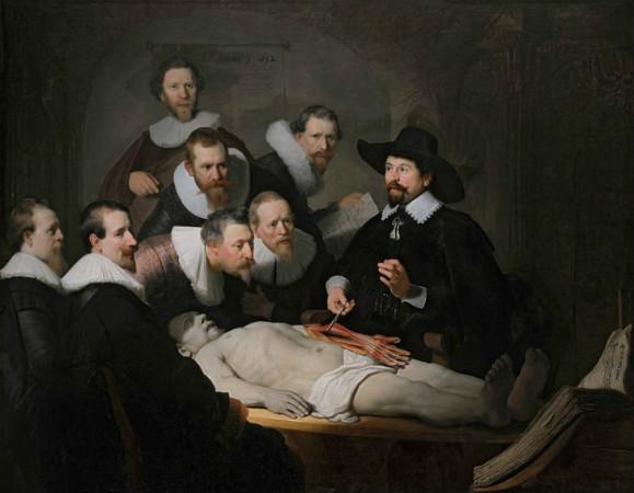 Rembrandt-Dr.-Nicolaes-Tulp'un-Anatomi-Dersi-1632