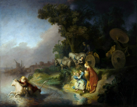 Rembrandt-Europa'nın-Kaçırılışı-1632