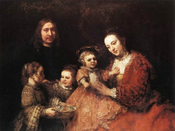 Rembrandt-Family-Group-1668