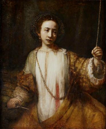 Rembrandt-Lucretia-1666