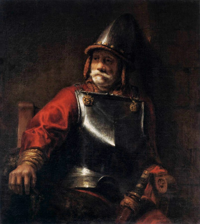 Rembrandt-Man-In-Armour-1650
