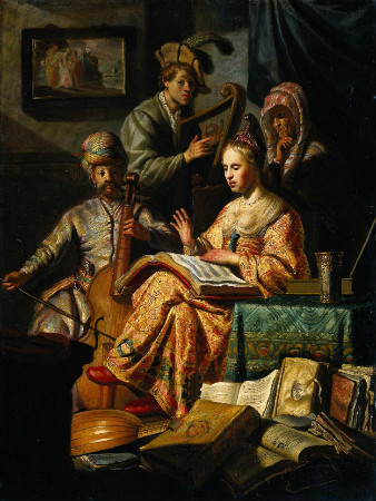 Rembrandt-Musical-Allegory-1626