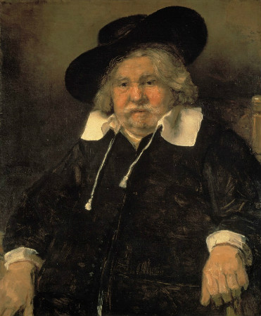 Rembrandt-Portrait-Of-An-Elderly-Man-1667