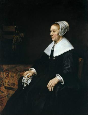 Rembrandt-Portrait-Of-Catherina-Hoogsaet-1657