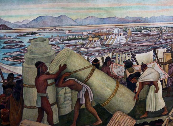 Diego Rivera, Tenochtitlan