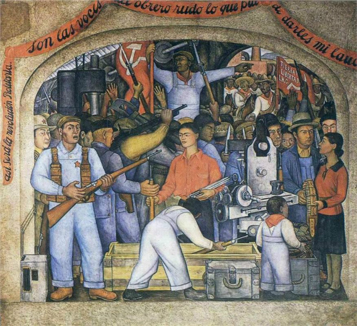 Diego Rivera, The Arsenal