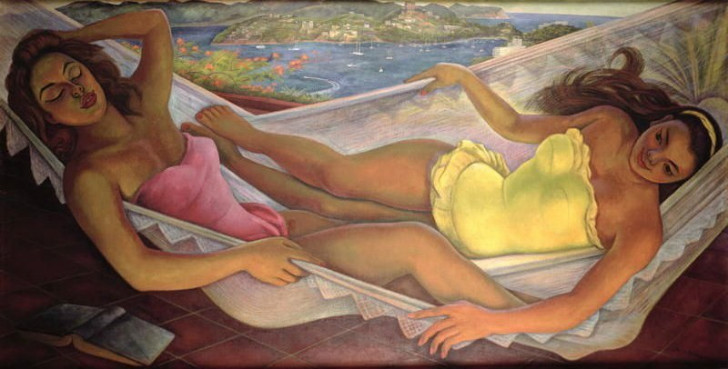Diego Rivera, The Hammock