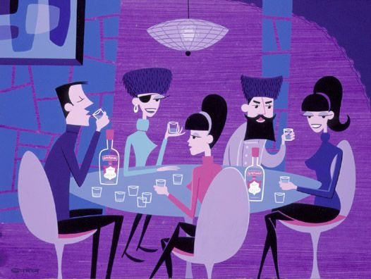 Josh Agle, The Potato Eaters