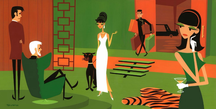 Josh Agle, The Queen of Sheba