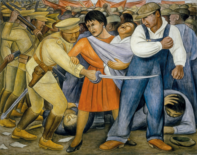 Diego Rivera, The Uprising