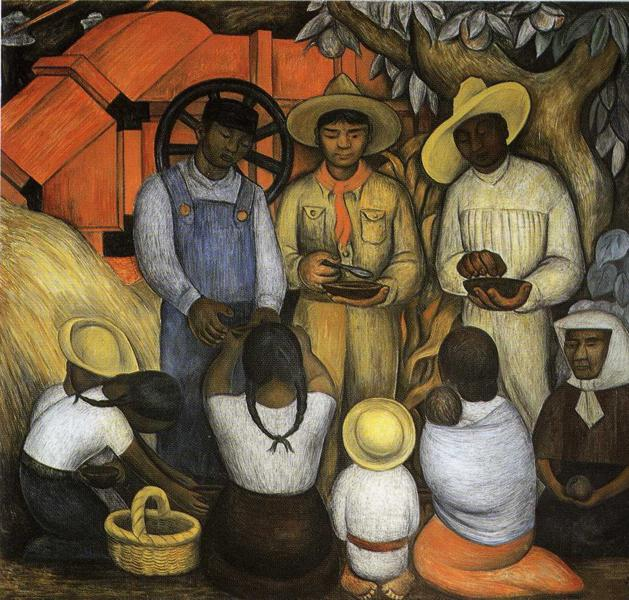 Diego Rivera, Triumph Of The Revolution