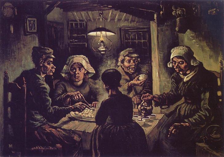 Van Gogh, Patates Yiyenler