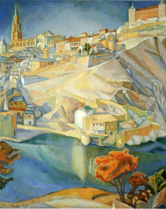 Diego Rivera, View of Toledo