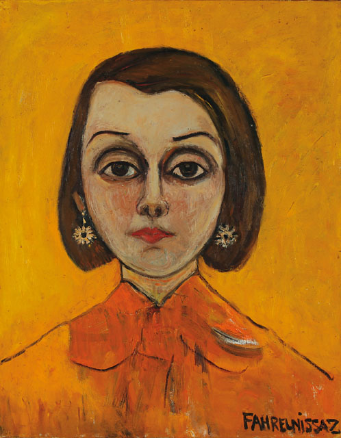 fahrelnisa zeyd, madam caron portresi, türk ressamlar, portre resimleri, portre nedir, portre tablolar, resim, ressam, tablo, otoportre