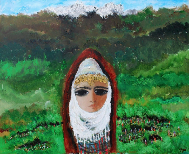 fikret otyam, türk ressamlar, portre resimleri, portre nedir, portre tablolar, resim, ressam, tablo, otoportre
