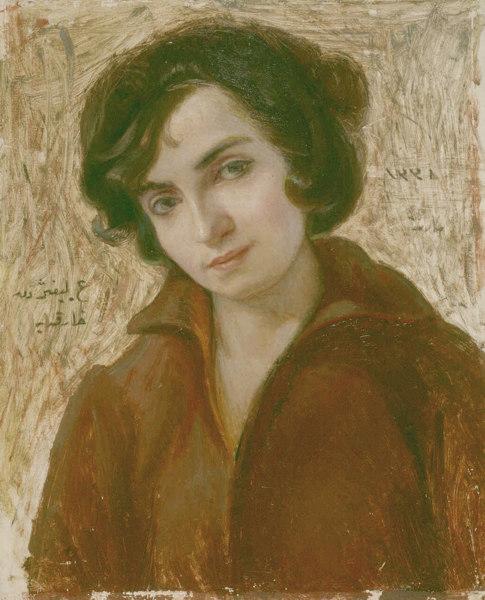 hüseyin avni lifij, harika sirel lifij portresi, türk ressamlar, portre resimleri, portre nedir, portre tablolar, resim, ressam, tablo, otoportre
