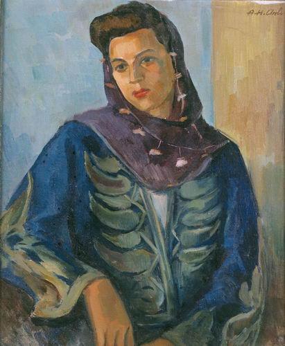 hakkı anlı, türk ressamlar, portre resimleri, portre nedir, portre tablolar, resim, ressam, tablo, otoportre