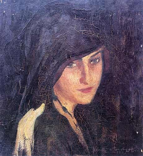 namık ismail, mediha hanım, türk ressamlar, portre resimleri, portre nedir, portre tablolar, resim, ressam, tablo, otoportre
