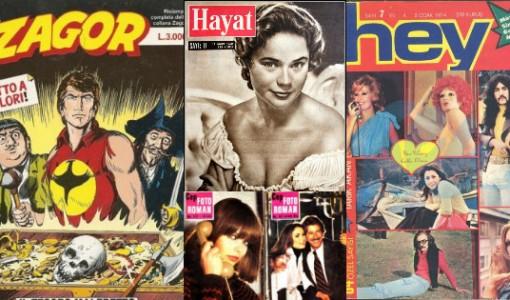 nostalji, bir zamanlar okuduklarımız, eski kitaplar, eski dergiler, nostaljik dergiler, nostaljik kitaplar