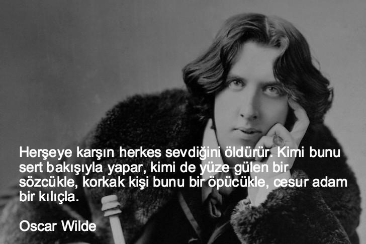 oscar wilde, düşündüren sözler, düşündüren özlü sözler, düşündüren güzel sözler, anlamlı sözler, güzel özlü sözler, güzel sözler