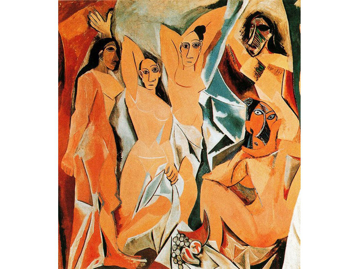 pablo picasso, avignonlu kadınlar
