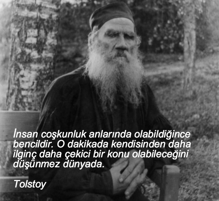 tolstoy, düşündüren sözler, düşündüren özlü sözler, düşündüren güzel sözler, anlamlı sözler, güzel özlü sözler, güzel sözler