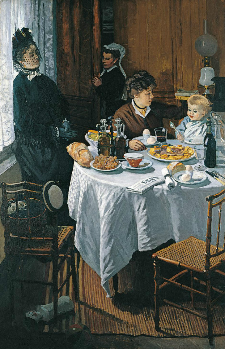 Claude Monet - Le Déjeuner (The Luncheon)