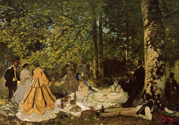 Claude Monet - Piknik