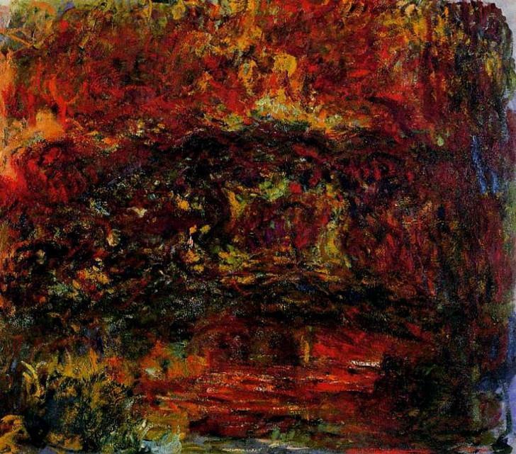 Claude Monet - The Japanese Bridge