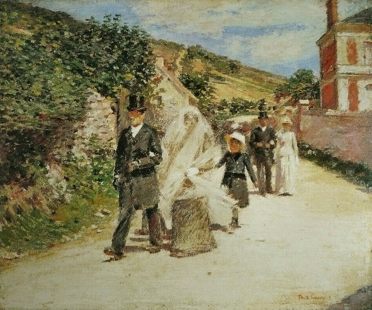 Claude Monet - The Wedding March