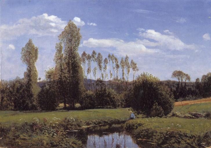 Claude Monet - View At Rouelles, Le Havre