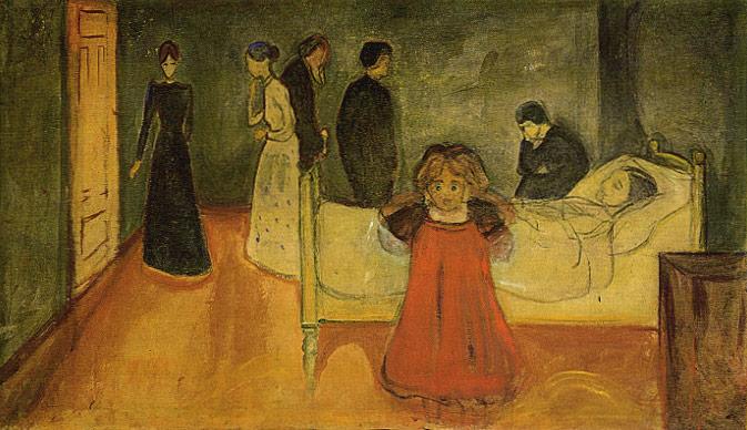 Edvard Munch - Ölü Anne ve Çocuk