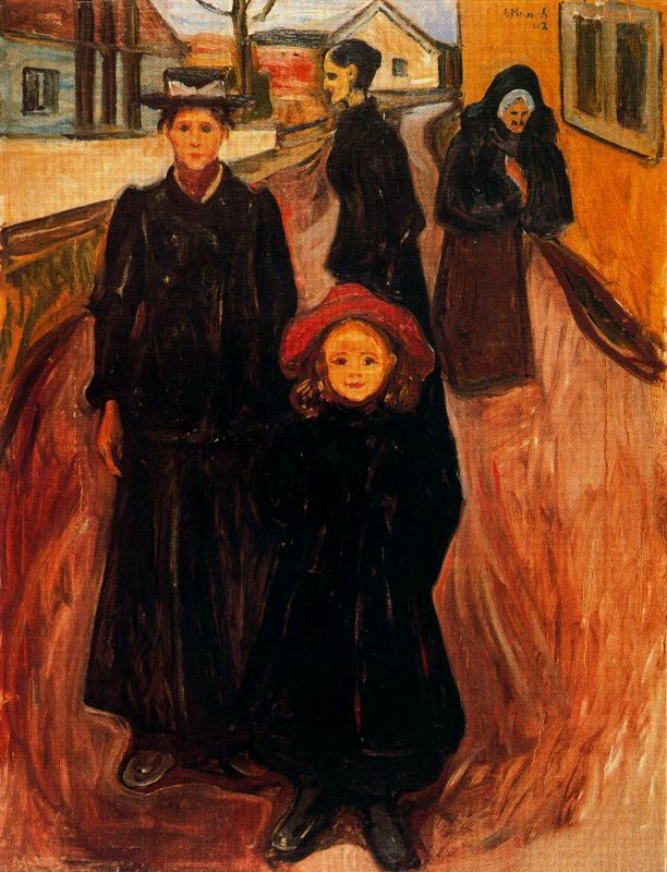 Edvard Munch - Four Ages In Life