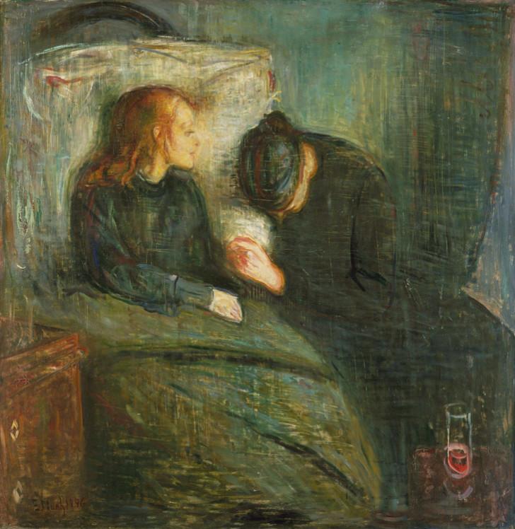 Edvard Munch - Hasta Çocuk